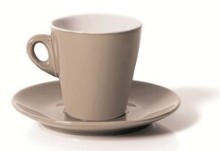 TAZZA THE CON PIATTINO CC.200 ELEGANT TORTORA