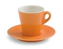 TAZZA THE CON PIATTINO CC.200 ELEGANT ARANCIONE