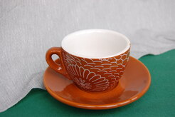 TAZZA THE CON PIATTINO CC180